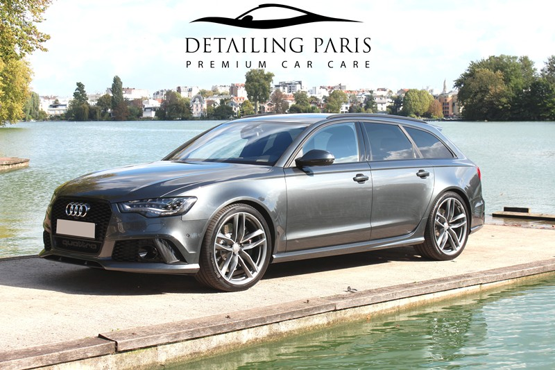 audi rs6 c7 4 0 tfsi 560 ch gris daytona r novation et protection automobile detailing paris. Black Bedroom Furniture Sets. Home Design Ideas